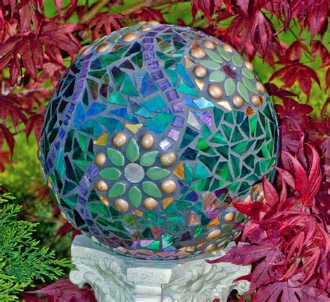 bowling fiori how to make a gorgeous garden mosaic gazing do it