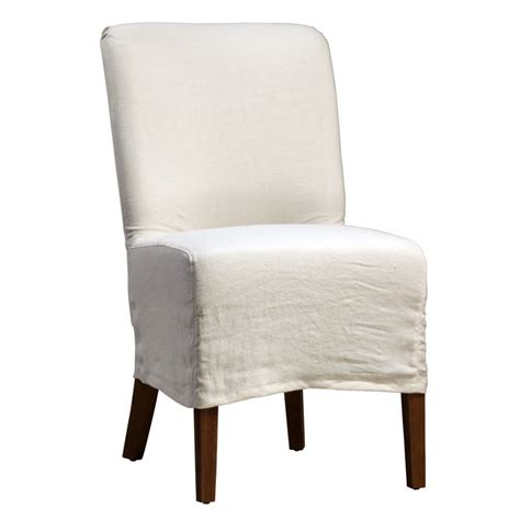 bench slipcover dining chair slipcovers linen 187 gallery dining