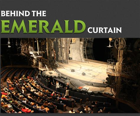 behind the emerald curtain wicked the musical official site behind the emerald