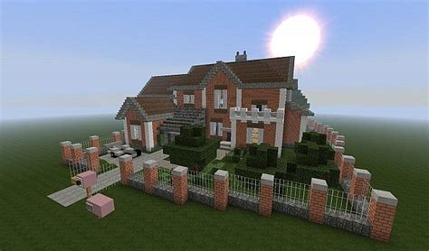 minecraft brick house brick house minecraft project