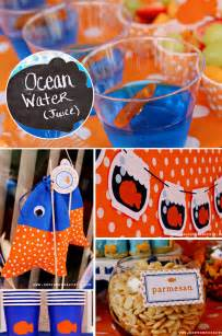 Goldfish Crackers Favors by Polka Dot Goldfish 2nd Birthday Pizzazzerie