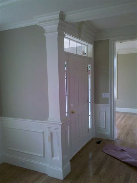 Homebase Dining Room Doors Chamfered Column W Recessed Panel Detail Applied Panel