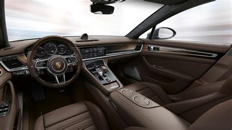 porsche panamera 2017 interior porsche exclusive reveals enhancements for 2017 panamera