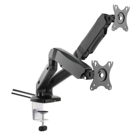 Swivel Arm Desk L by Dual Lcd Monitor Gas Counterbalance Arm Desk Mount 13