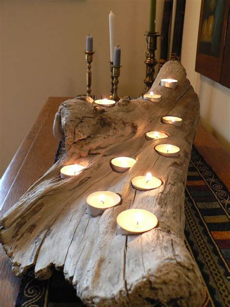 candele it 20 idee per portacandele fai da te in legno mondodesign it