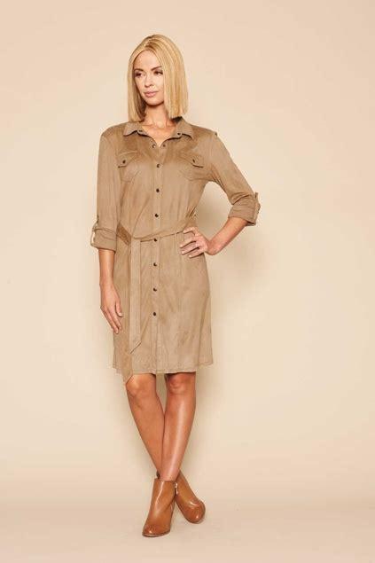 Syafira Dress threadz clothing safari dress womens knee length dresses