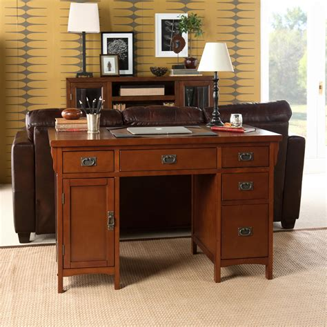 View Larger Mahogany Computer Desk