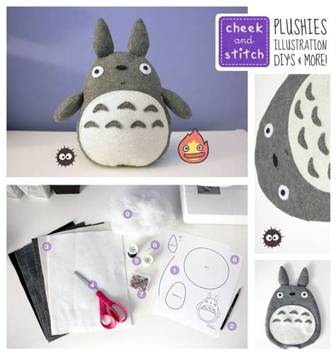 17 best images about totoro crafts on