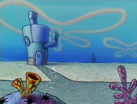 layout of spongebob s house spongebuddy mania spongebob locations tom s house
