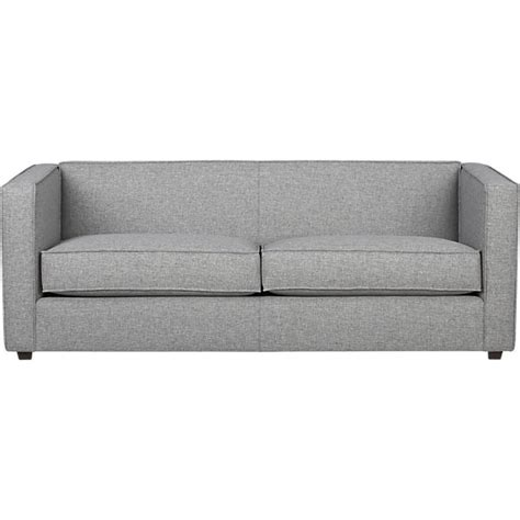 club sofa club sofa grey cb2