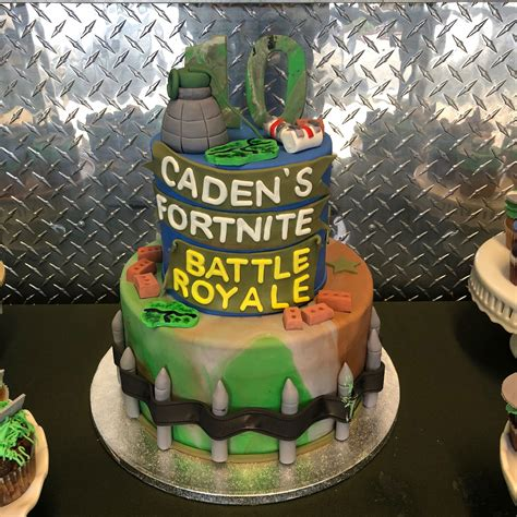 fortnite birthday cake fortnite battle royale themed birthday jaydon s
