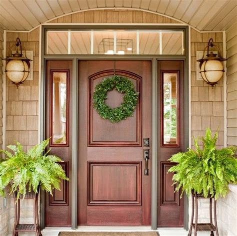 home door design gallery 25 best ideas about wood front doors on pinterest entry