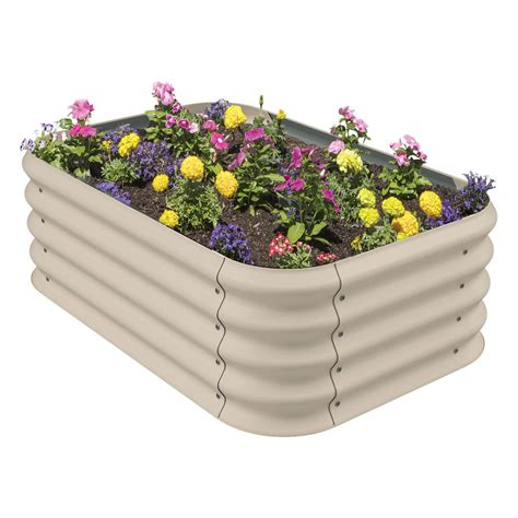 corrugated garden bed merino