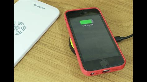 iqi mobile wireless charging for iphone 5 5s and 5c