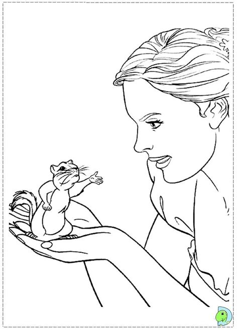 enchanted princess coloring pages enchanted pictures coloring home