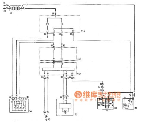 palio starting and charging system circuit diagram basic