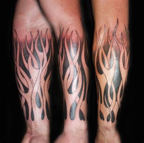 tribal flame sleeve tattoo tattoos designs ideas and meaning tattoos for you