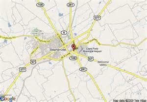 map stephenville map of stephenville days inn stephenville