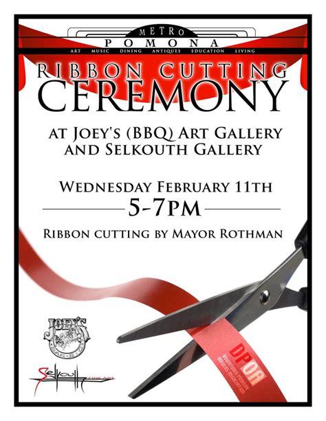 Ribbon Cutting Flyer Template sle ribbon cutting invitations 1275 x 1650 183 396 kb