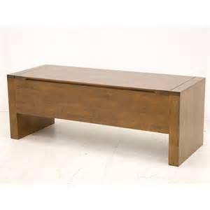 coffre bout de lit en bois meuble de rangement fjord