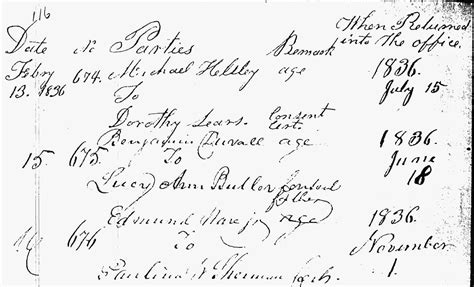 Elkton Maryland Marriage Records Benjamin Franklin Devol And Nancy Turnham