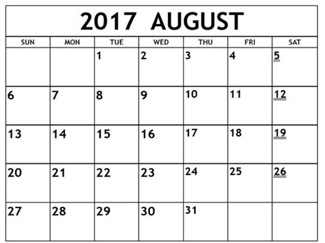 printable calendar 2017 ms word august 2017 calendar word calendar template letter