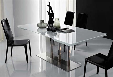 modern dining table plano extendable dining table by cattelan italia modern