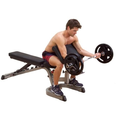 body solid combo bench fitnesszone body solid powercenter combo bench gdib46l