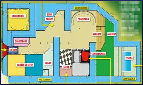 dove si trova la casa grande fratello grande fratello 14 ecco la pianta della casa urbanpost