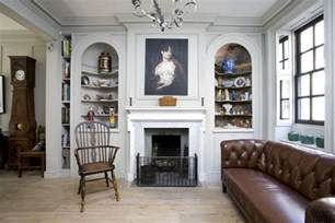 English Homes Interiors contemporary english style house interior fireplace as the focal