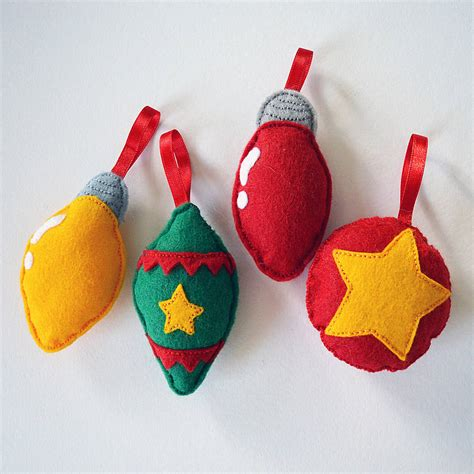make your own christmas decorations kit by sarah hurley