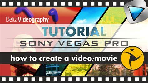 tutorial sony vegas pro 9 español delcavideography official site agosto 2015