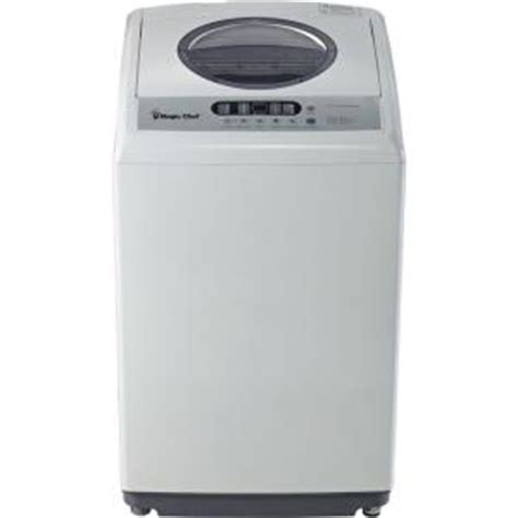 magic chef compact 1 6 cu ft top load washer in white