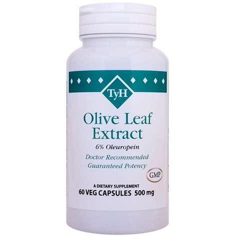 Olive Leaf Extract Detox by Olive Leaf Extract 60 Veg Capsules