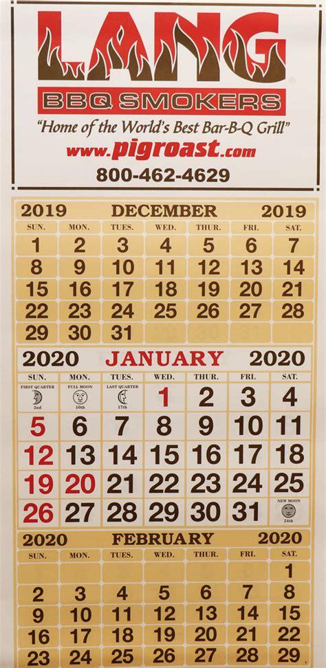 lang  wall calendar lang bbq smoker cookers