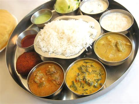 tami cuisine indian food images thali menu calori chart picture
