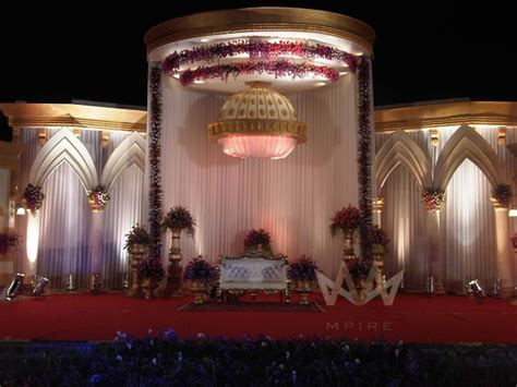New Stage Decoration by Indian Wedding Stage D 233 Cor Ideas With Lights