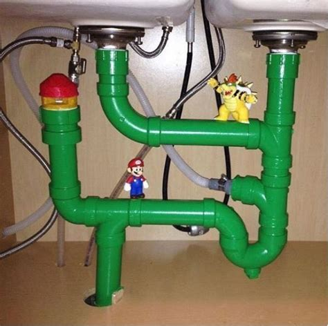 Water Brothers Plumbing by Mario Bros Plumbing A Sink Neatorama