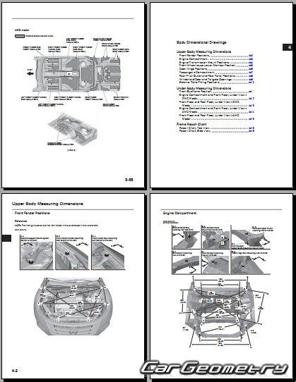 service manuals schematics 2010 honda accord crosstour lane departure warning кузовные размеры honda accord crosstour tf 2010 2016 body repair manual