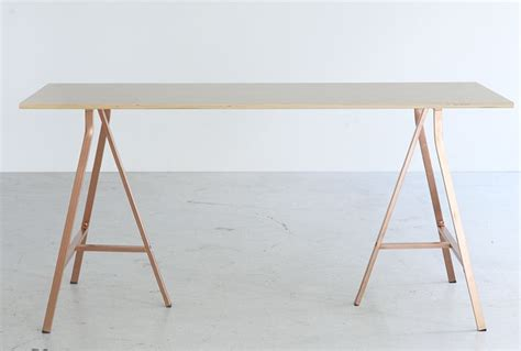 copper table l ikea ikea br 197 kig copper trestle table furniture