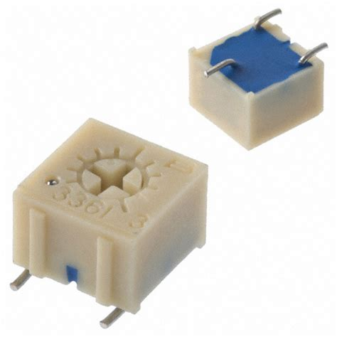 Trimpot Smd Trimmer Potentiometer Adjustable Resistor 3303 3361p 1 502glf bourns inc potentiometers variable resistors digikey