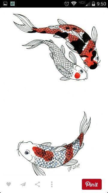 tato ikan koi di paha 25 ide terbaik tatto koi di pinterest tato ikan koi