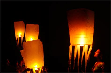 How To Make Paper Lanterns Like In Tangled - how to make sky lanterns aditiodyssey