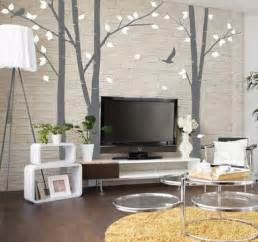 Tv Decor 50 Beautiful Designs Of Wall Stickers Wall Art Decals
