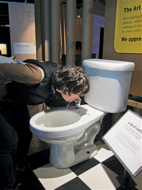 drinking toilet water the science and psychology of