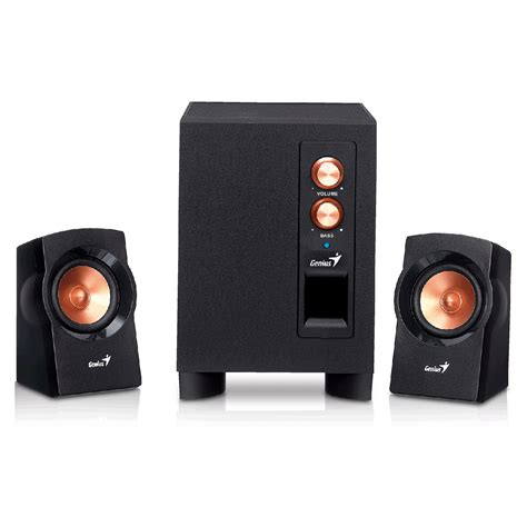 Genius Sw 2 1 360 Speaker genius sw 2 1 360 enceinte pc genius sur ldlc