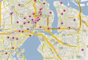 jacksonville florida crime map spotcrime the s crime map september 2008