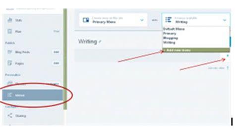 panduan membuat wordpress gratis panduan blogging membuat menu pada wordpress gratisan