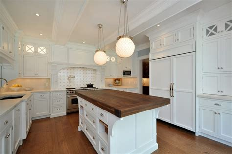 walnut island counter tops traditional kitchen walnut island kitchen rustic with white cabinets