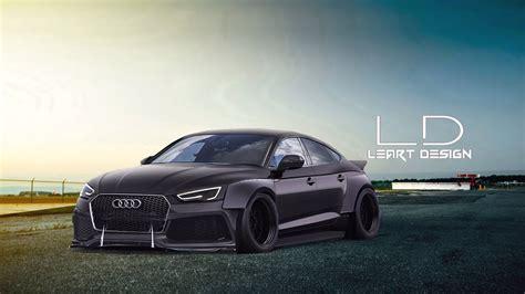 Tuning Audi A5 Sportback by Virtual Tuning Audi A5 Sportback Photoshop Youtube